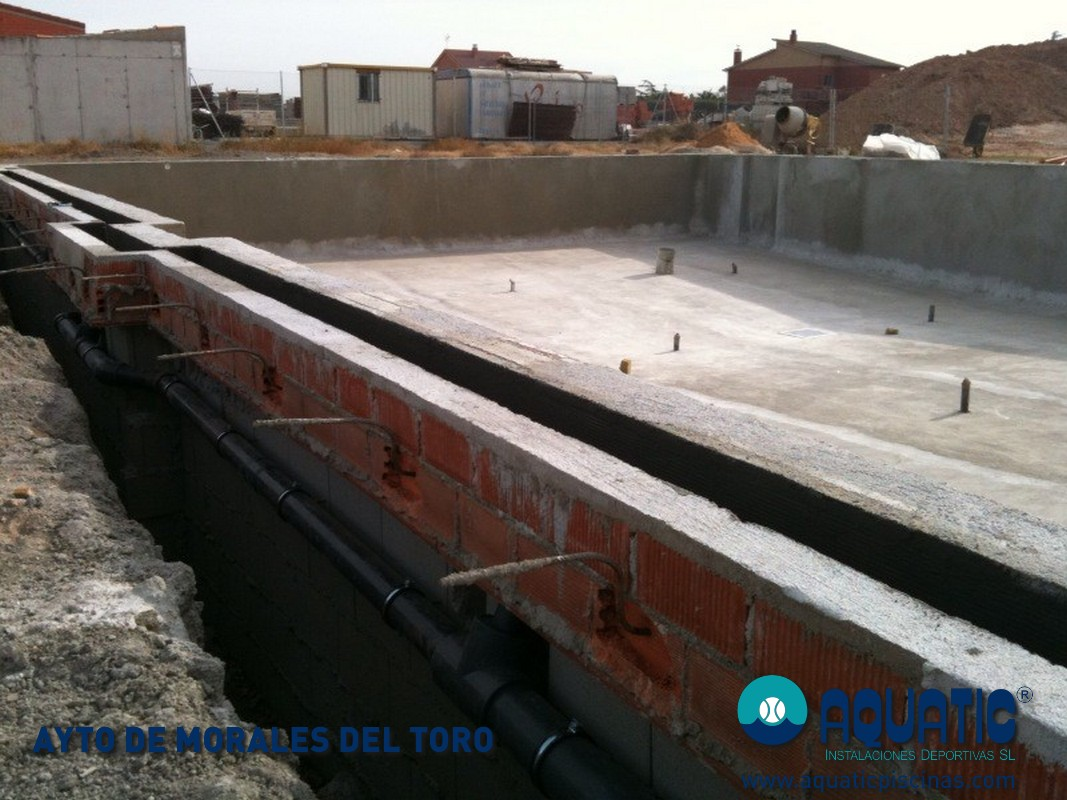 Tipos de hormig n para construir una piscina aquatic for Construir pileta de hormigon